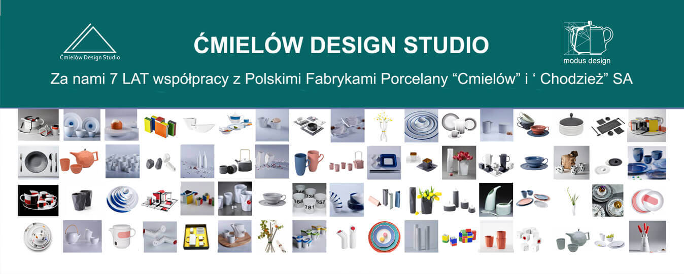 Modus Design for Ćmielów Design Studio